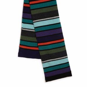 PAUL SMITH London BLOCK Striped Wool Scarf